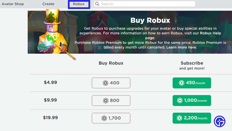 how to get robux subscription premium