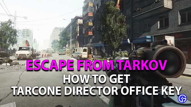 how to get tarcone director office key