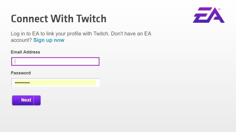 How To Connect EA Account To Twitch