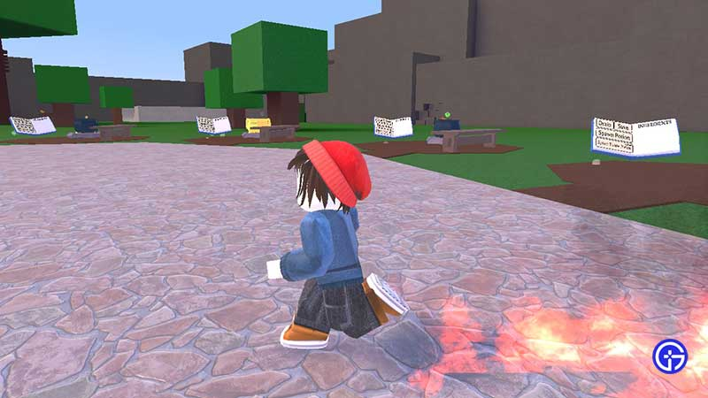how to make fire walking potion wacky wizards