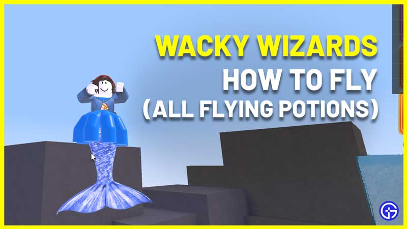 Wacky Wizards How To Fly Using Flying Potions