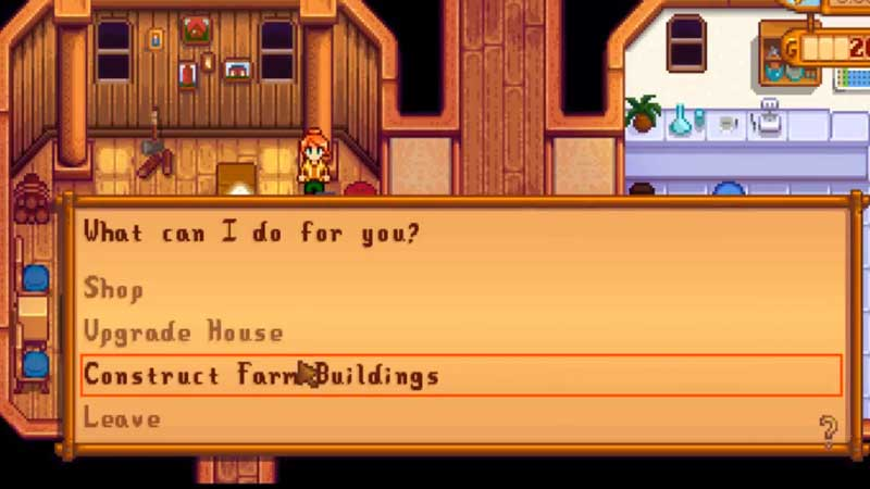 how to move structures stardew valley