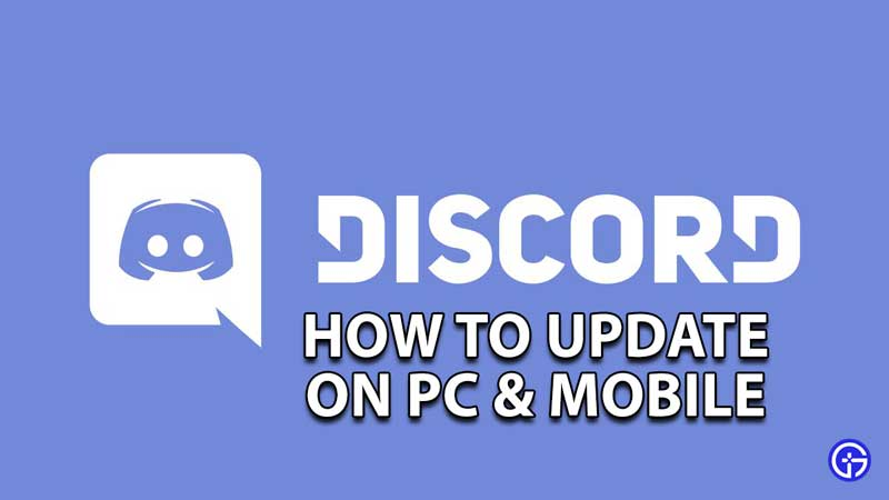 how to update discord on pc mobile