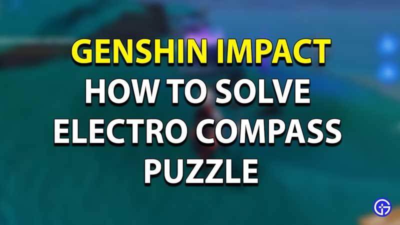 Lightning Probe Genshin Impact