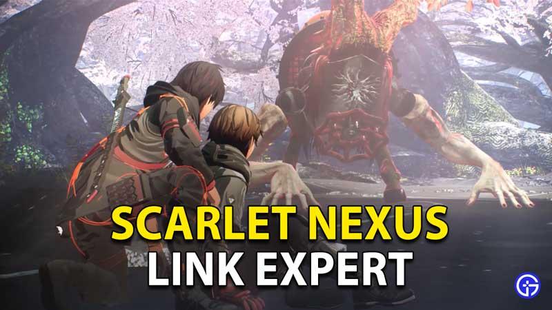 Scarlet Nexus Link Expert Trophy Achievement