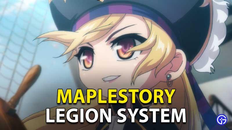 Maplestory Legion System
