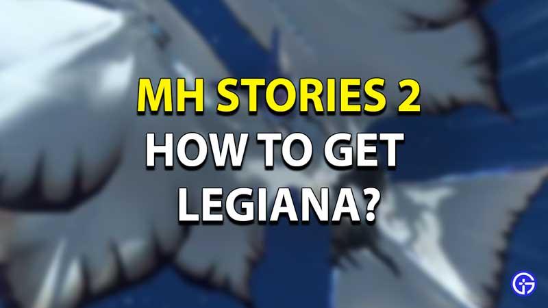 MHW Legiana Monster