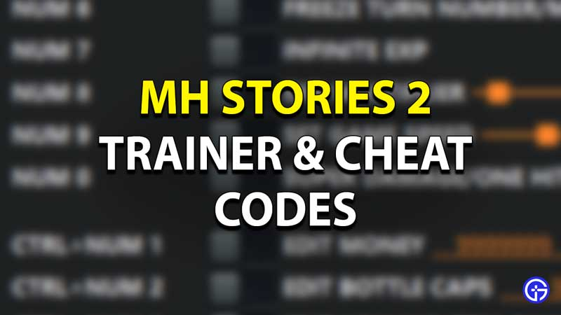 MH Stories 2 Cheat Codes