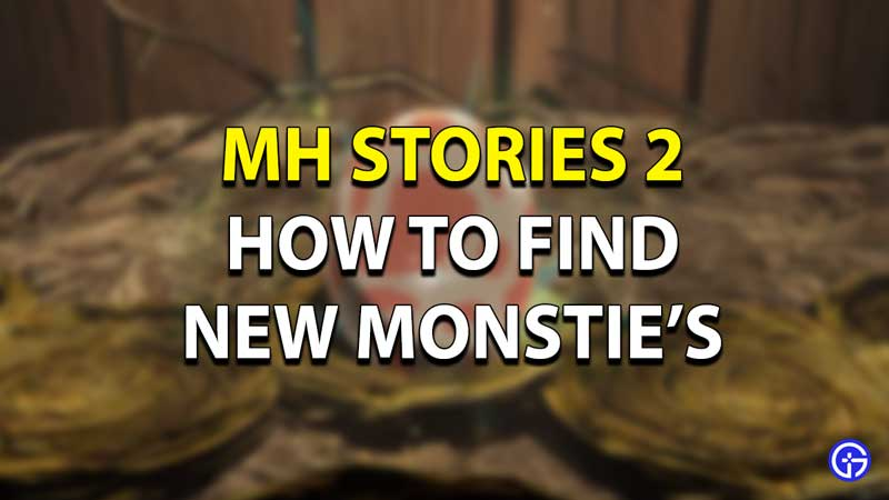 MH Stories 2 New Monsties Guide