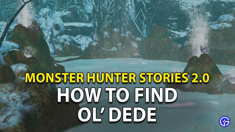 Monster Hunter Stories 2 Old Dede