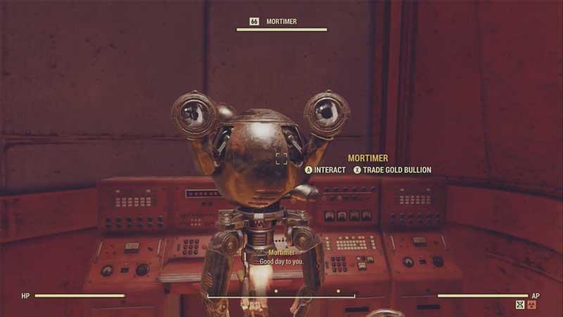 mortimer fallout 76