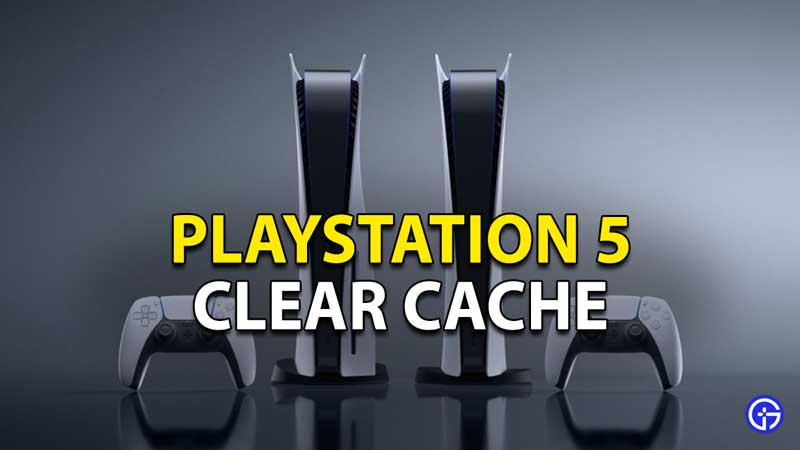How To Clear Your PS5 Cache