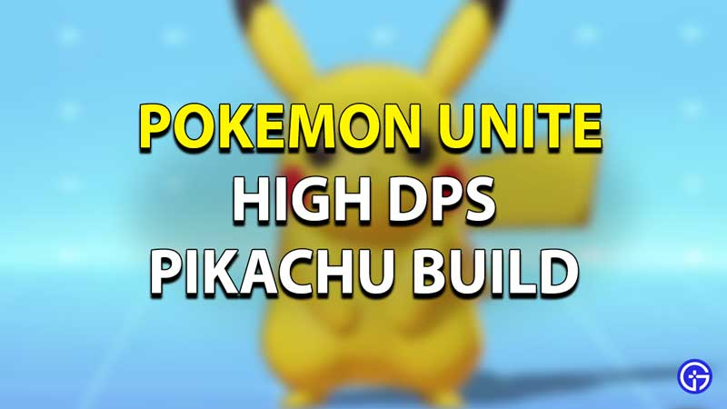 Pokemon Unite - Best Pikachu Build