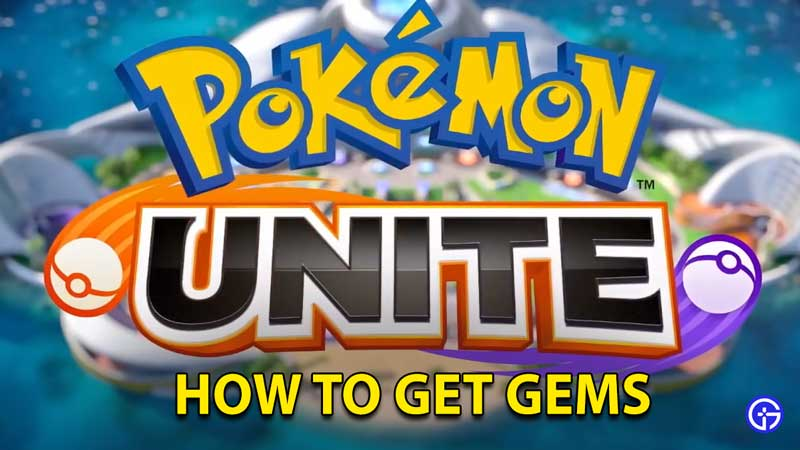 Pokemon Unite: How To Get And Use Gems