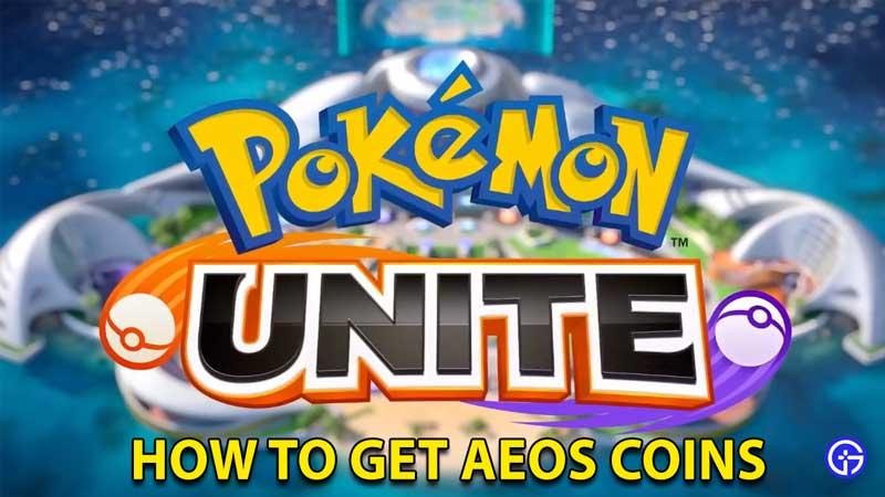 Pokemon Unite Aeos Coins