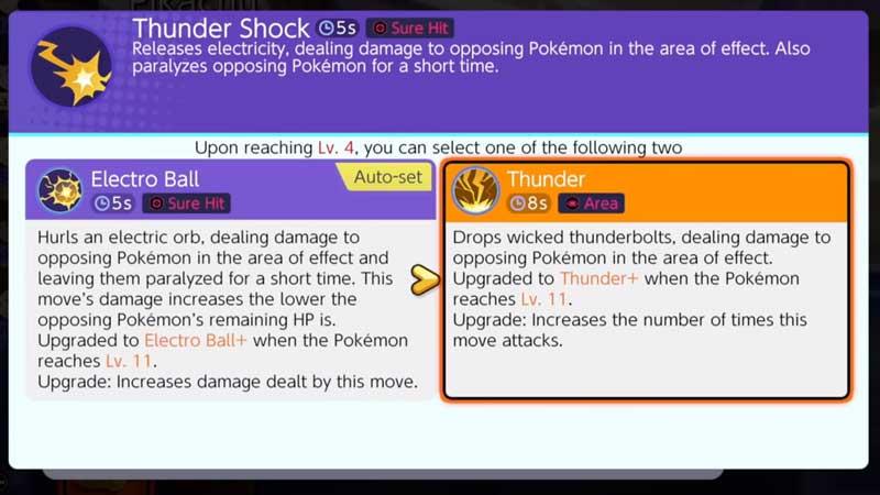 Pokemon Unite Attacks
