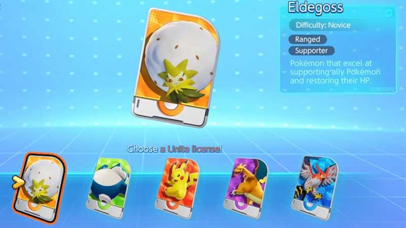 Pokemon Unite Pokemon Types