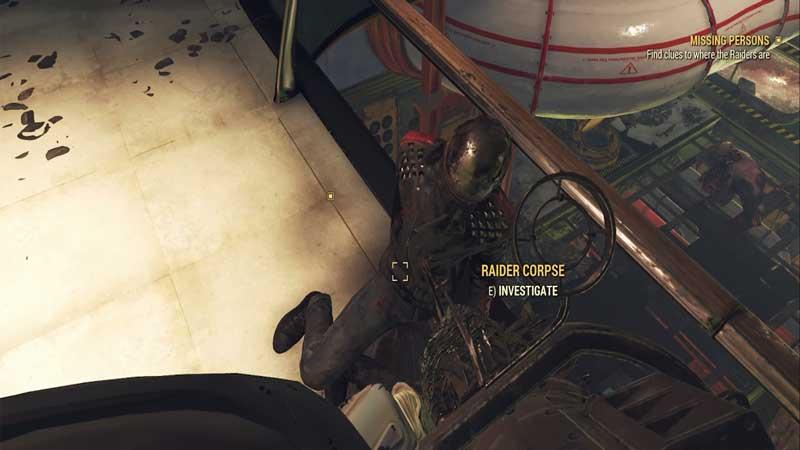 raider corpse