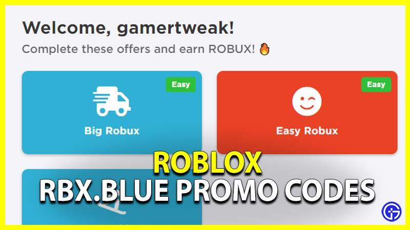 rbx,blue codes