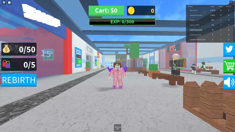 Shopping Simulator Codes Roblox