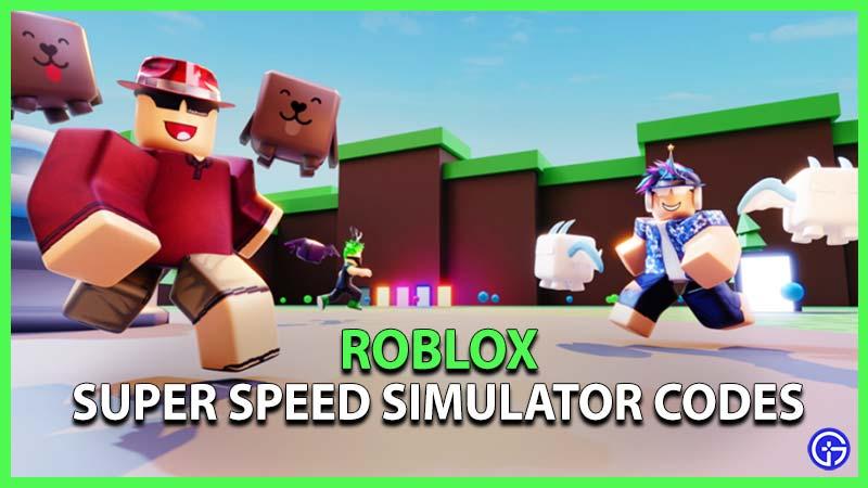 roblox super speed simulator codes