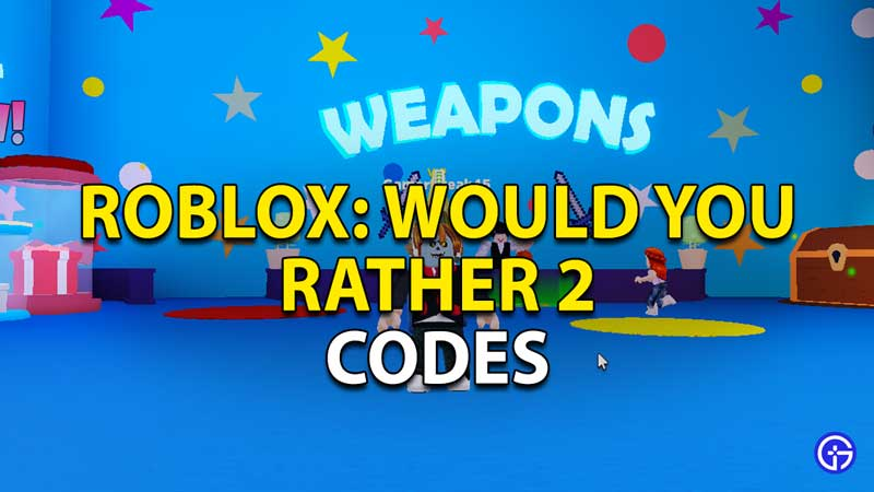 roblox would you rather 2 codes