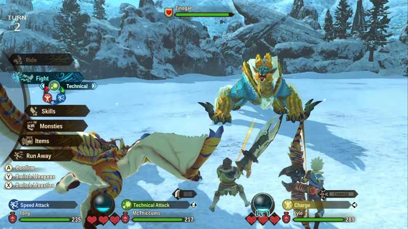 royal monsters monster hunter stories 2