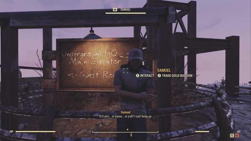 samuel fallout 76