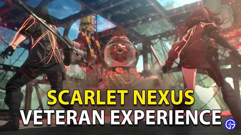 Scarlet Nexus Veteran Experience Side Quest