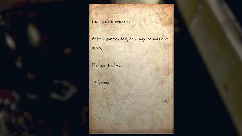 sheena letter