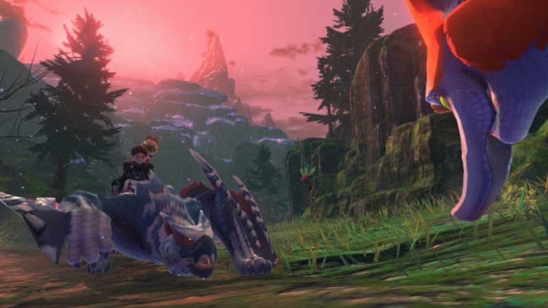 Monster Hunter Stories 2 Silverwind Nargacuga