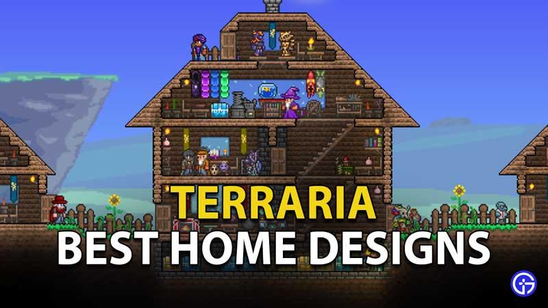 Terraria House Designs