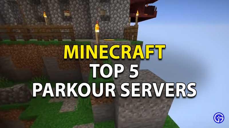 Minecraft Best Parkour Servers