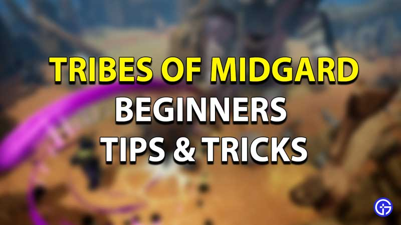 Tribes of Midgard Beginners Tips