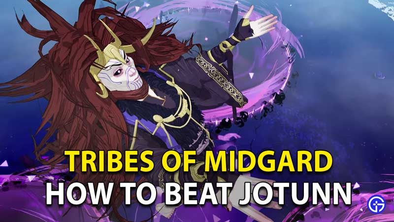 Tribes Of Midgard Beat Jotunn: Complete Boss Fight