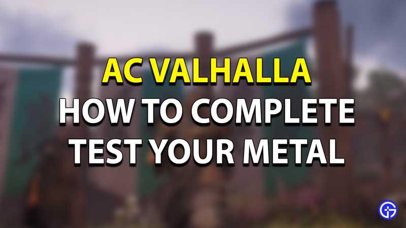 AC Valhalla Test your Metal