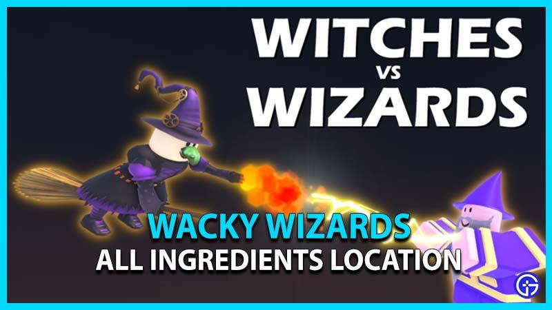 wacky wizards all ingredients location