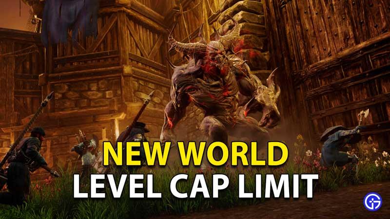 New World Level Cap