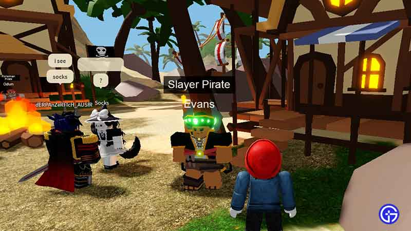where to find evans location roblox islands
