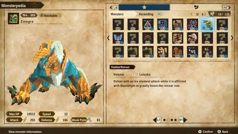 zinogre monster hunter stories 2