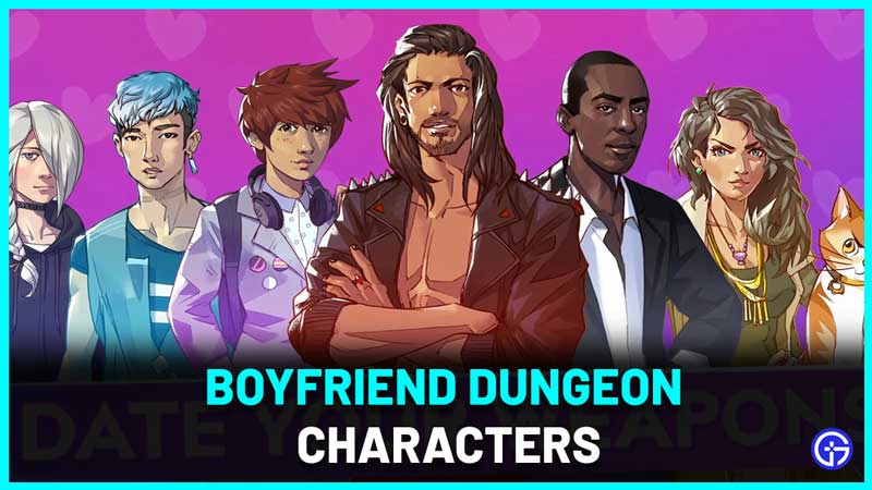 Boyfriend Dungeon Characters Guide all likes and dislikes