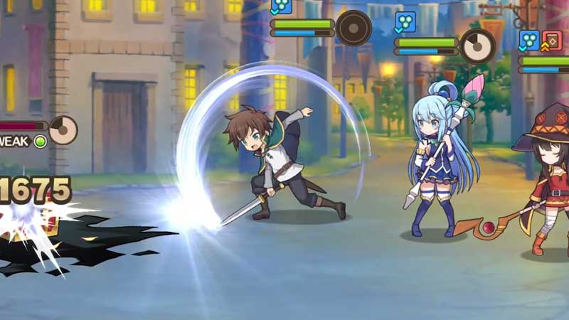 Konosuba Fantastic Days all playable characters