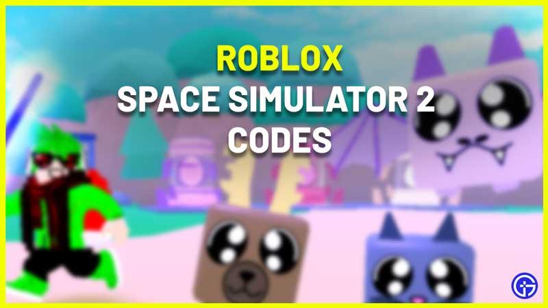 All Roblox Space Simulator 2 Codes List