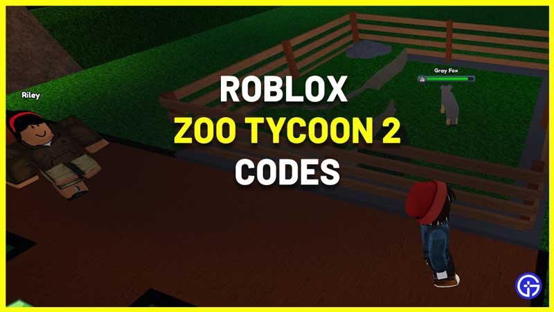 All Roblox Zoo Tycoon 2 Codes List