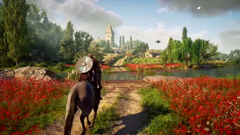 Assassin's Creed Valhalla The Siege of Paris setting