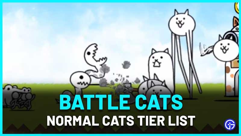 Battle Cats Tier List