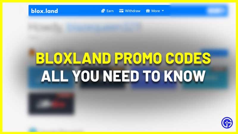 bloxland promo codes
