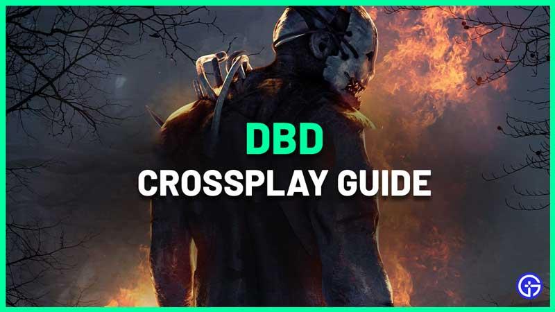 DBD crossplay how to add friends