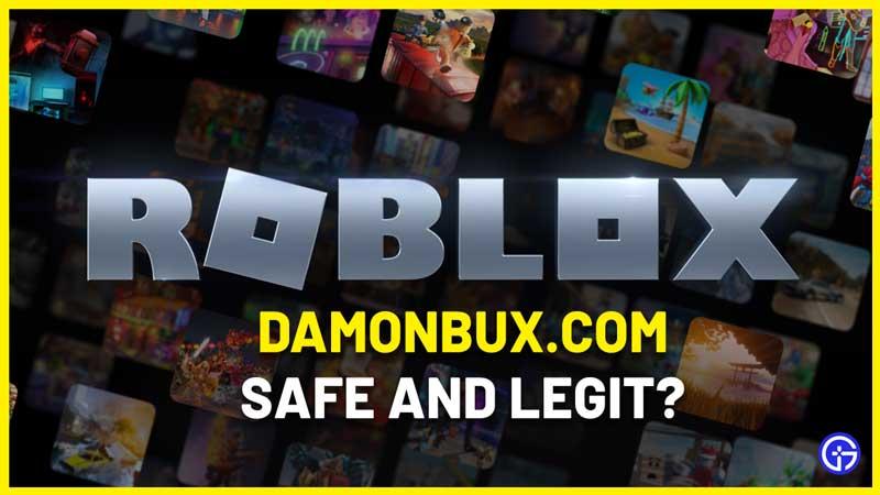 damonbux.com roblox robux generator real safe
