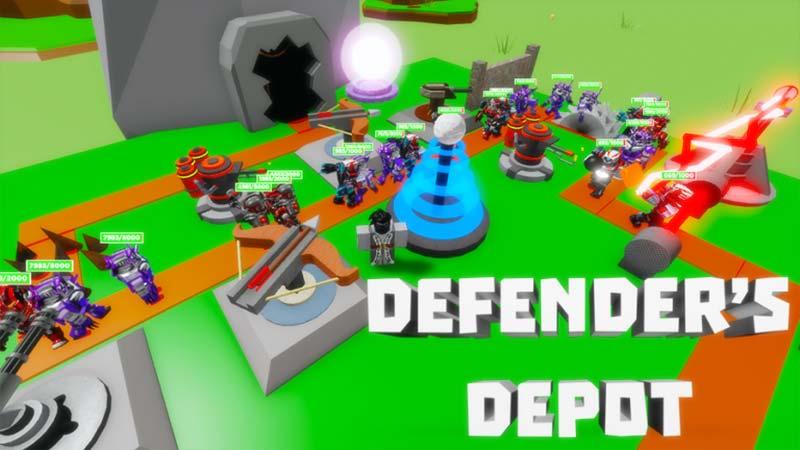 Defenders Depot Codes